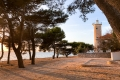 Lanterna, or the Lighthouse, was built in 1881, but since 2012 it serves not only as navigation aid but also as luxury appartment.
