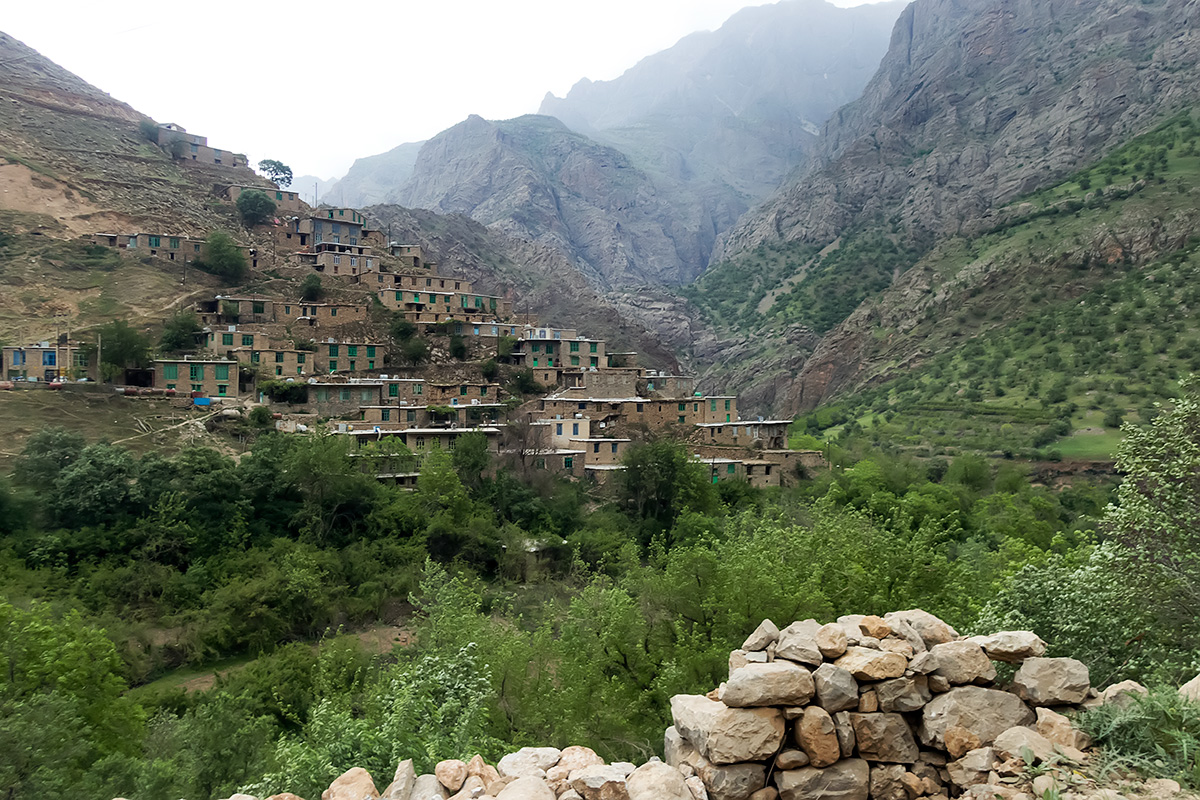 The Hawrami village of Bulbar.