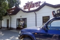 Our Landcruiser at the Kvint store.