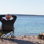 Relaxation at Bali beach, Pag, Croatia