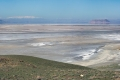 Panoramic view of Lake Urmia from the eastern bank