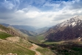 At the top of the pass the view opens on the Hawraman valley, the heart of Kurdistan.
