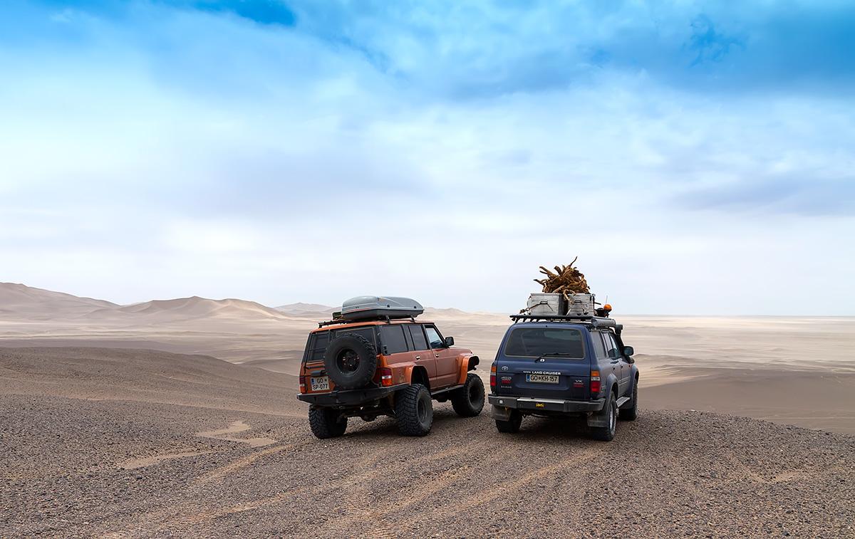 Our faithful hardworking vehicles. Photo LoneWolf