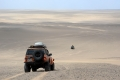 On the way back west, across the central plain of Dasht-e Lut desert. Photo LoneWolf