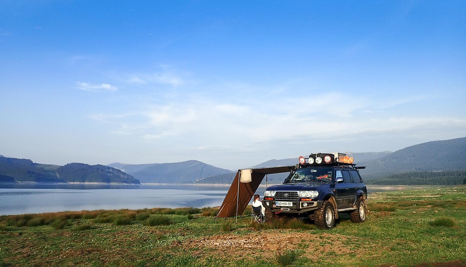 Bivak pri Lacul Vidra