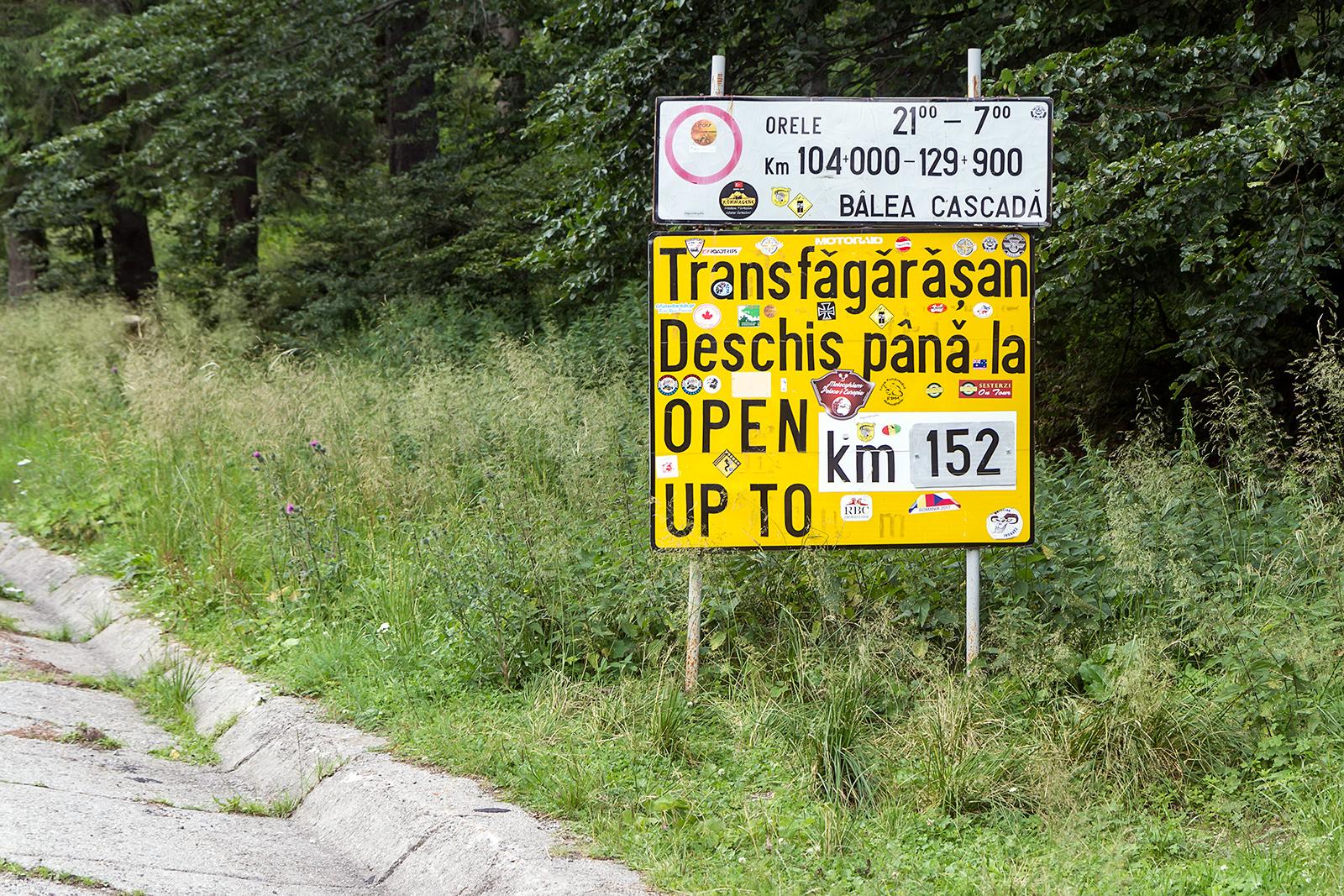 Začetek po mnenju Top Geara najboljše ceste -Transfagarasa
